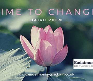 time to change poem haiku