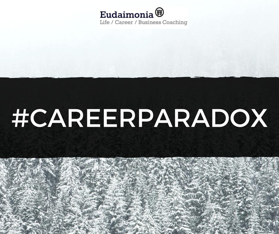CareerParadox; Christina Garidi; Eudaimonia Coaching; Eudaimonia